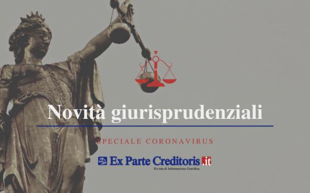 """COVID-19 ED URGENZA DEI """"RIPARTI"""": Le disposizioni del Tribunale di Brescia"""