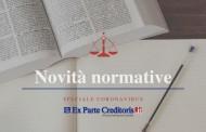 """CONVERSIONE DECRETO """"CURA ITALIA"""": SOSPESE PER SEI MESI LE PROCEDURE ESECUTIVE IMMOBILIARI"""